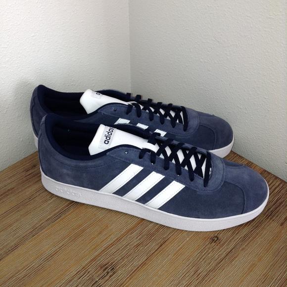 adidas VL Court 2.0 Men Shoes Size 11.5 DA9854 New